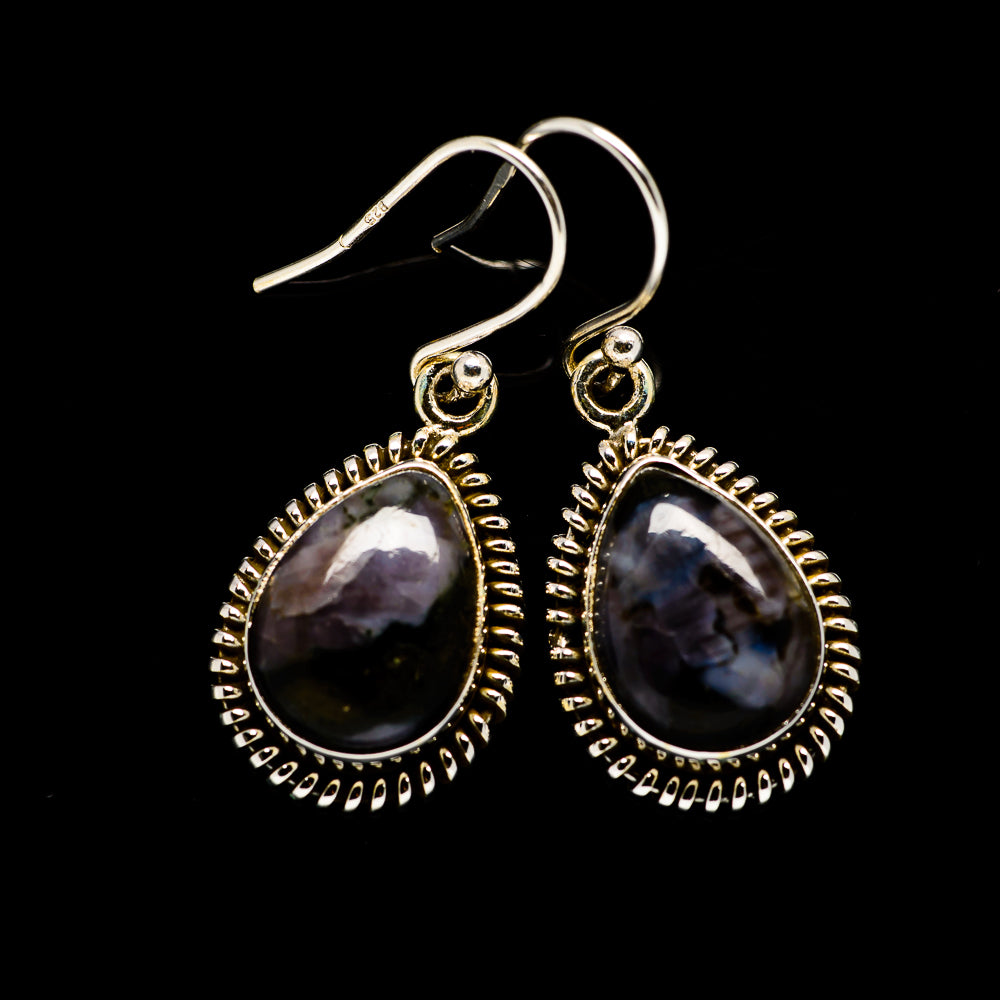Gabbro Earrings handcrafted by Ana Silver Co - EARR393752