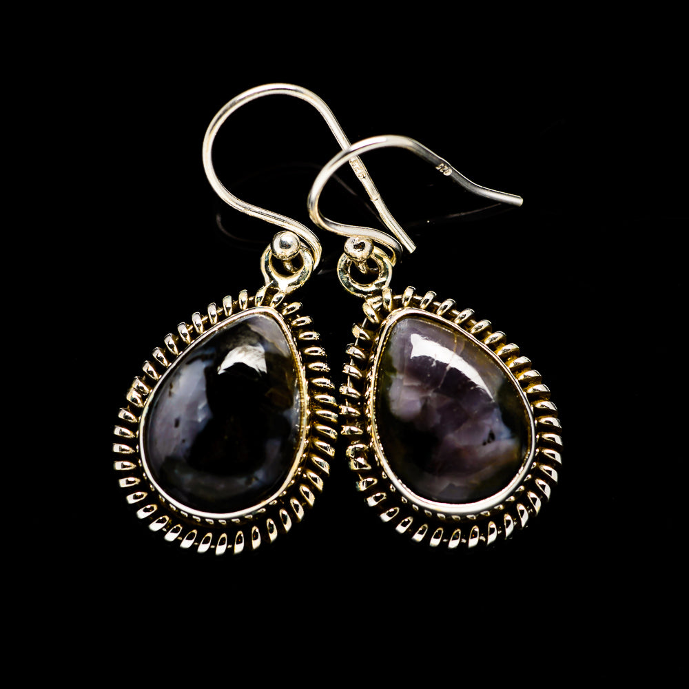 Gabbro Earrings handcrafted by Ana Silver Co - EARR393818