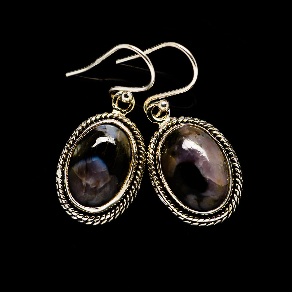Gabbro Earrings handcrafted by Ana Silver Co - EARR393852