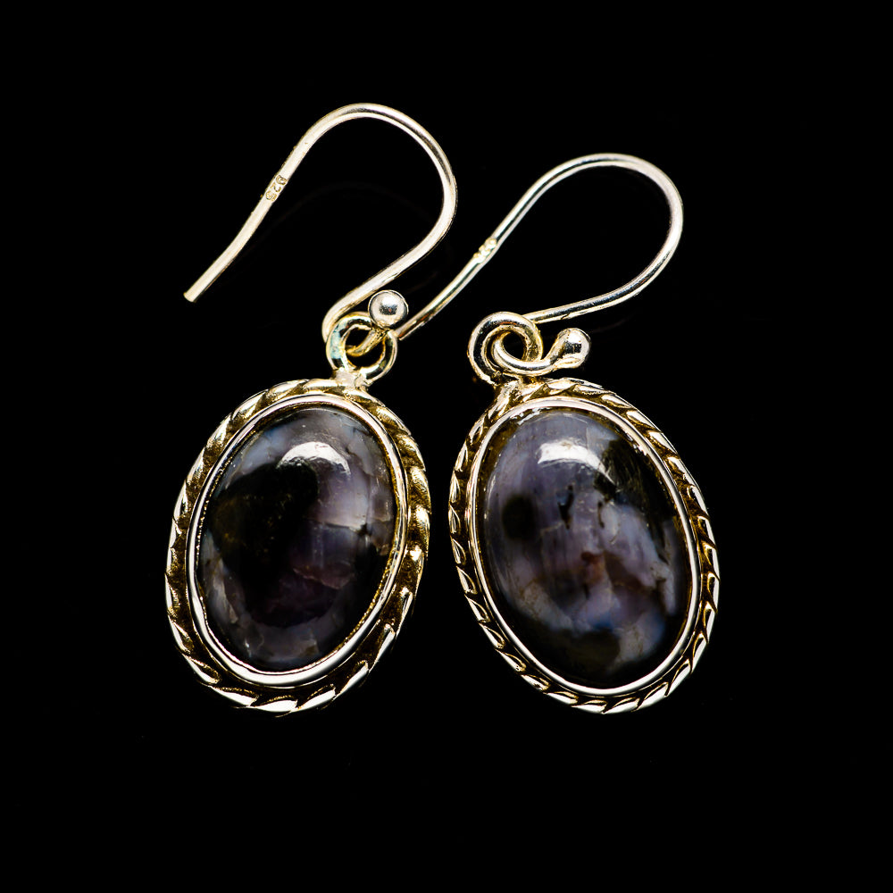 Gabbro Earrings handcrafted by Ana Silver Co - EARR394159
