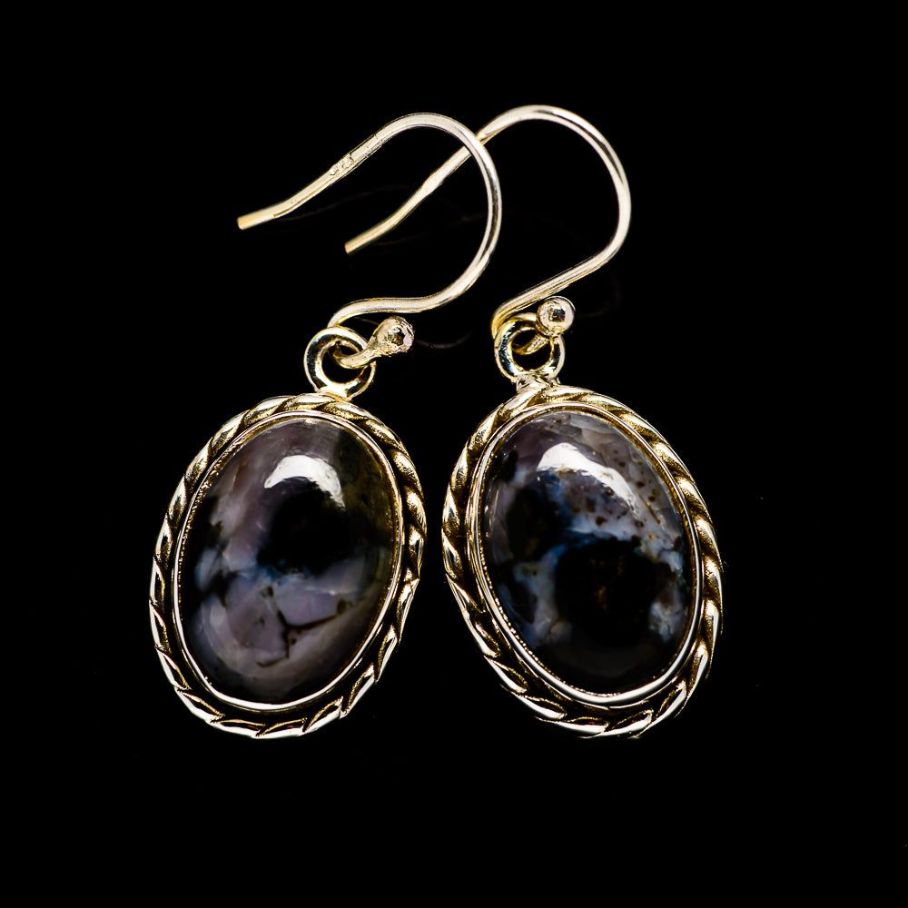 Gabbro Earrings handcrafted by Ana Silver Co - EARR394315