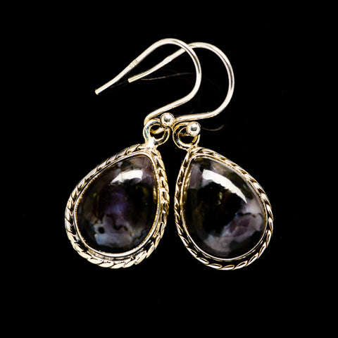 Gabbro Earrings handcrafted by Ana Silver Co - EARR394351