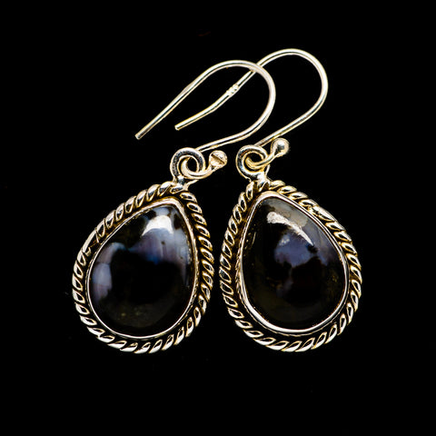 Gabbro Earrings handcrafted by Ana Silver Co - EARR394472