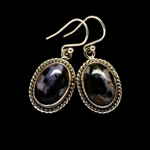 Gabbro Earrings handcrafted by Ana Silver Co - EARR394483