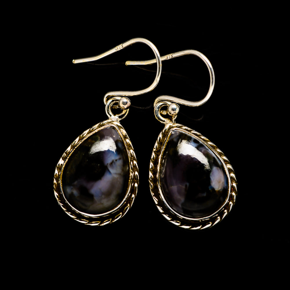 Gabbro Earrings handcrafted by Ana Silver Co - EARR394541