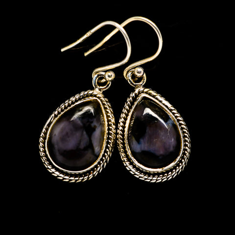 Gabbro Earrings handcrafted by Ana Silver Co - EARR394611