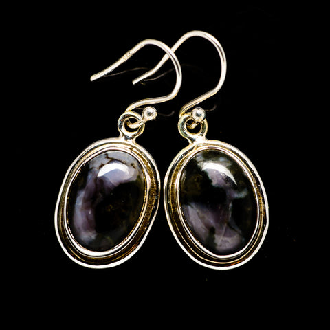Gabbro Earrings handcrafted by Ana Silver Co - EARR394619