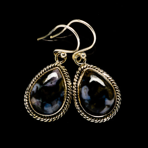 Gabbro Earrings handcrafted by Ana Silver Co - EARR394671