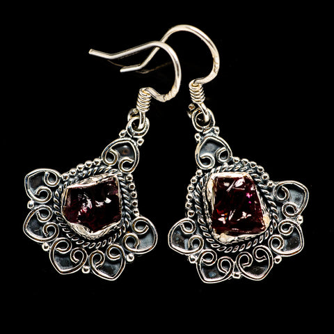 Garnet Earrings handcrafted by Ana Silver Co - EARR394694