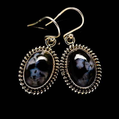 Gabbro Earrings handcrafted by Ana Silver Co - EARR394807