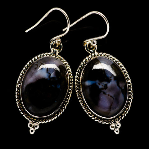 Gabbro Earrings handcrafted by Ana Silver Co - EARR395053