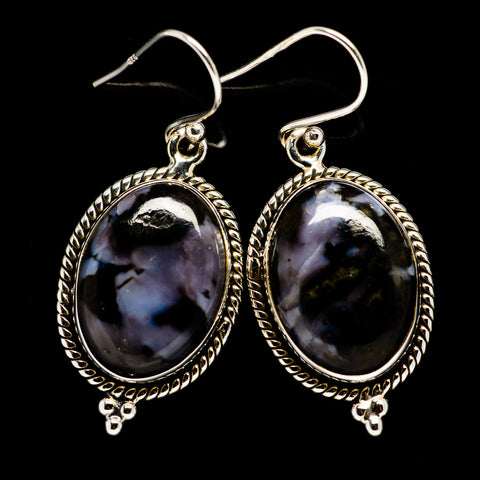 Gabbro Earrings handcrafted by Ana Silver Co - EARR395064