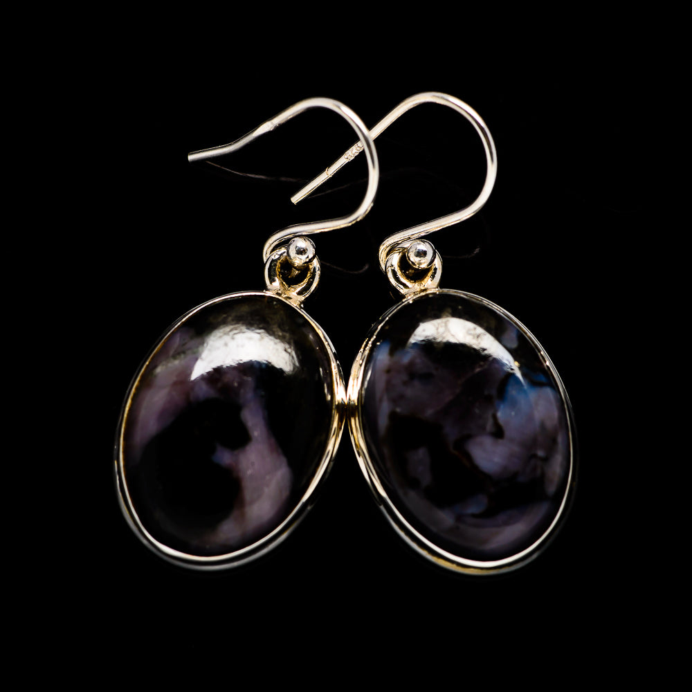 Gabbro Earrings handcrafted by Ana Silver Co - EARR395108