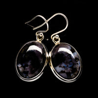 Gabbro Earrings handcrafted by Ana Silver Co - EARR395138