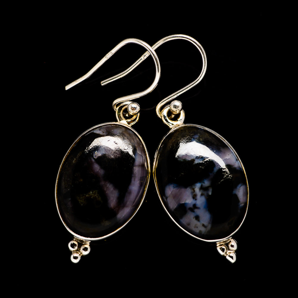 Gabbro Earrings handcrafted by Ana Silver Co - EARR395189