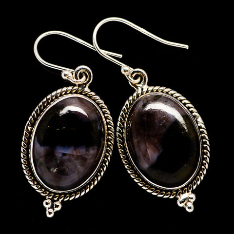 Gabbro Earrings handcrafted by Ana Silver Co - EARR395695
