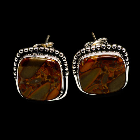 Bauxite Earrings handcrafted by Ana Silver Co - EARR395745