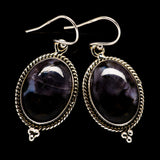 Gabbro Stone Earrings handcrafted by Ana Silver Co - EARR395796
