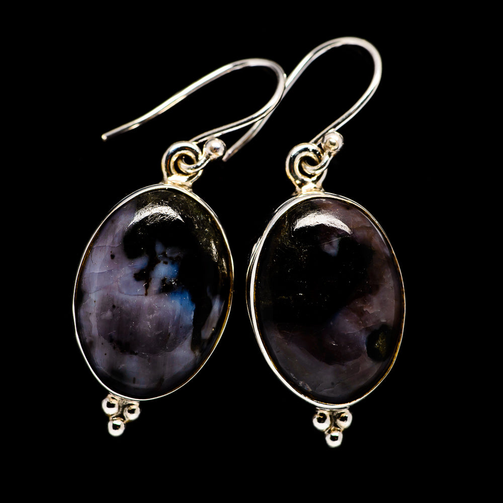 Gabbro Earrings handcrafted by Ana Silver Co - EARR396249