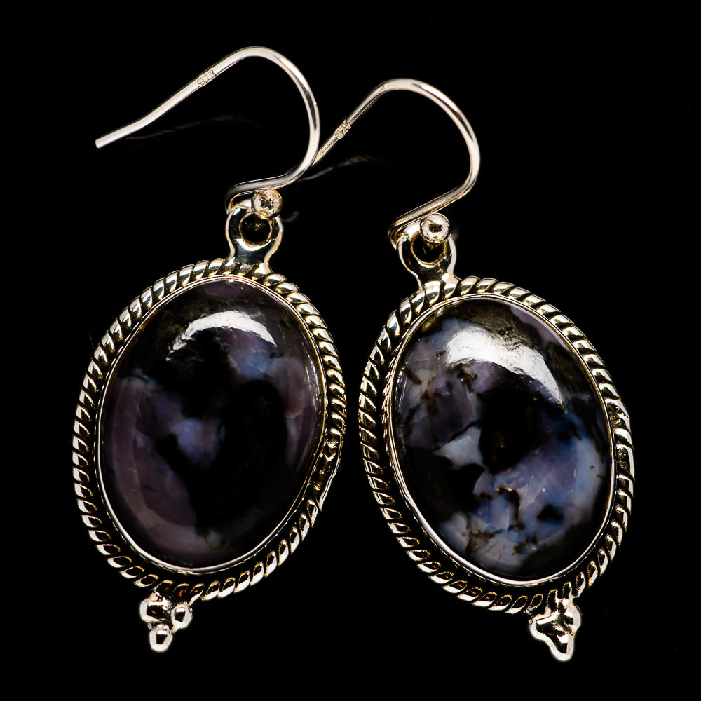 Gabbro Earrings handcrafted by Ana Silver Co - EARR396542