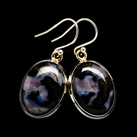 Gabbro Stone Earrings handcrafted by Ana Silver Co - EARR396903
