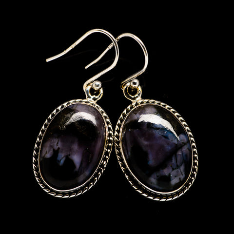 Gabbro Stone Earrings handcrafted by Ana Silver Co - EARR396935