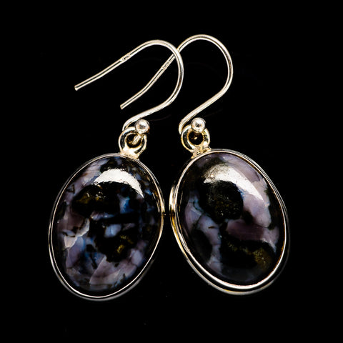 Gabbro Stone Earrings handcrafted by Ana Silver Co - EARR397158
