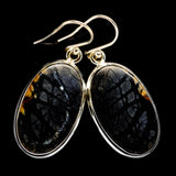 Picasso Jasper Earrings handcrafted by Ana Silver Co - EARR397567