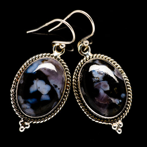 Gabbro Stone Earrings handcrafted by Ana Silver Co - EARR399209