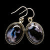 Gabbro Stone Earrings 1 3/8