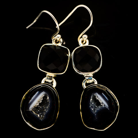 Coconut Geode Druzy Earrings handcrafted by Ana Silver Co - EARR404746