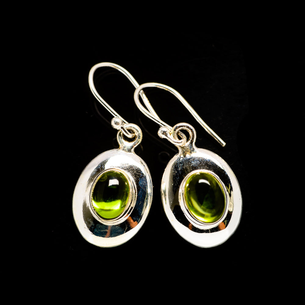 Peridot Earrings handcrafted by Ana Silver Co - EARR405684