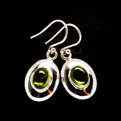 Peridot Earrings handcrafted by Ana Silver Co - EARR405935