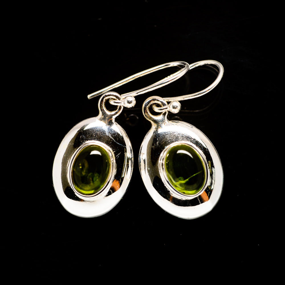 Peridot Earrings handcrafted by Ana Silver Co - EARR405940