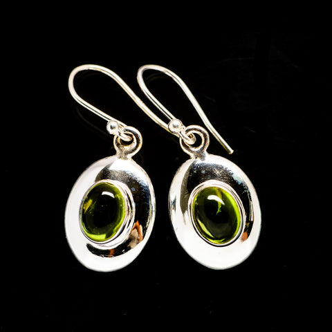 Peridot Earrings handcrafted by Ana Silver Co - EARR406006