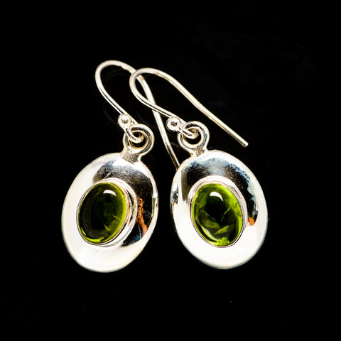 Peridot Earrings handcrafted by Ana Silver Co - EARR406036