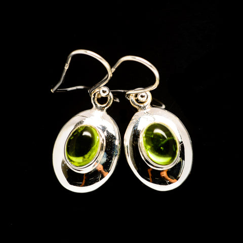 Peridot Earrings handcrafted by Ana Silver Co - EARR406125