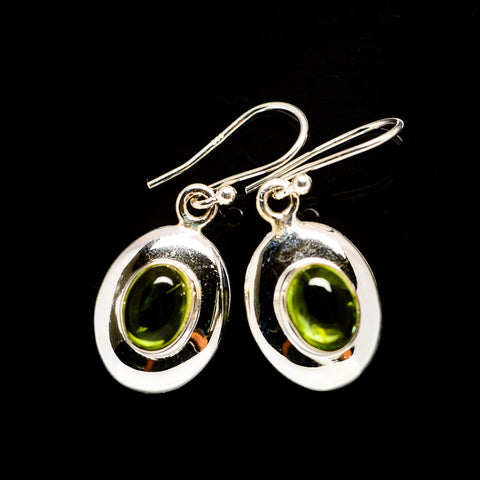 Peridot Earrings handcrafted by Ana Silver Co - EARR406136