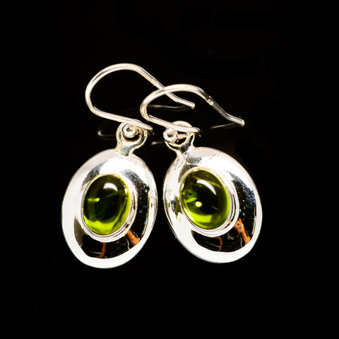 Peridot Earrings handcrafted by Ana Silver Co - EARR406160