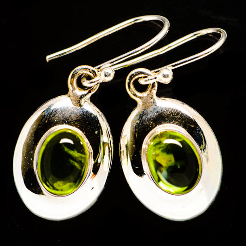 Peridot Earrings handcrafted by Ana Silver Co - EARR406189