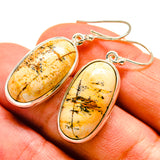 Picture Jasper Earrings handcrafted by Ana Silver Co - EARR408183