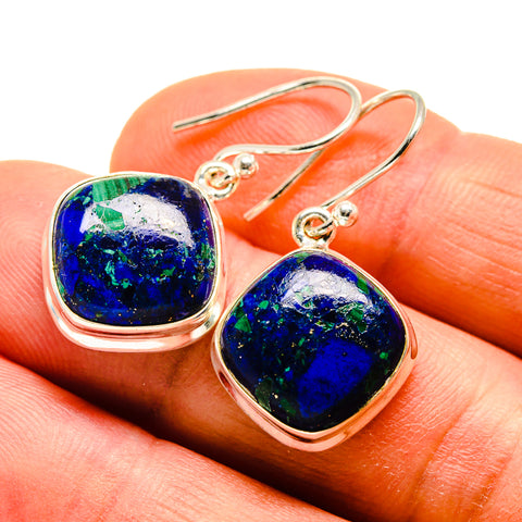 Azurite Earrings handcrafted by Ana Silver Co - EARR409361