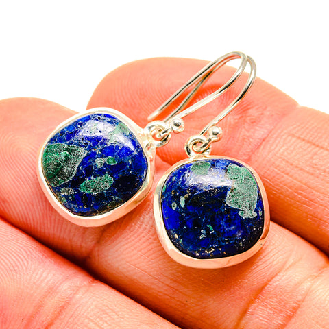 Azurite Earrings handcrafted by Ana Silver Co - EARR409664