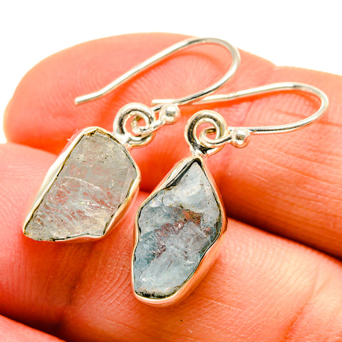 Aquamarine Earrings handcrafted by Ana Silver Co - EARR409830