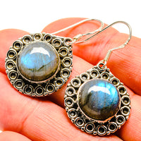 Labradorite Earrings handcrafted by Ana Silver Co - EARR411762