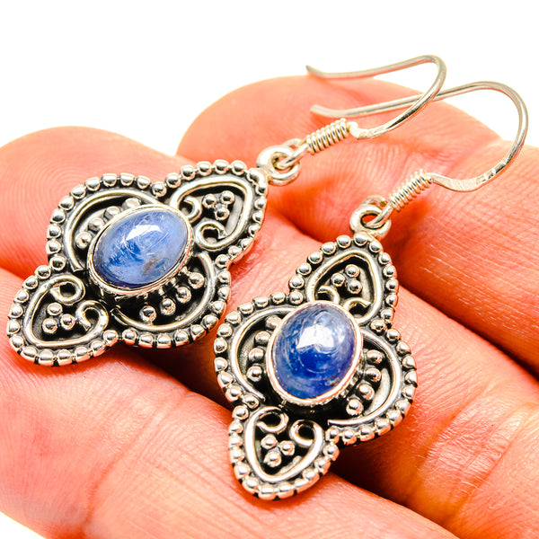 Kyanite Earrings handcrafted by Ana Silver Co - EARR415146