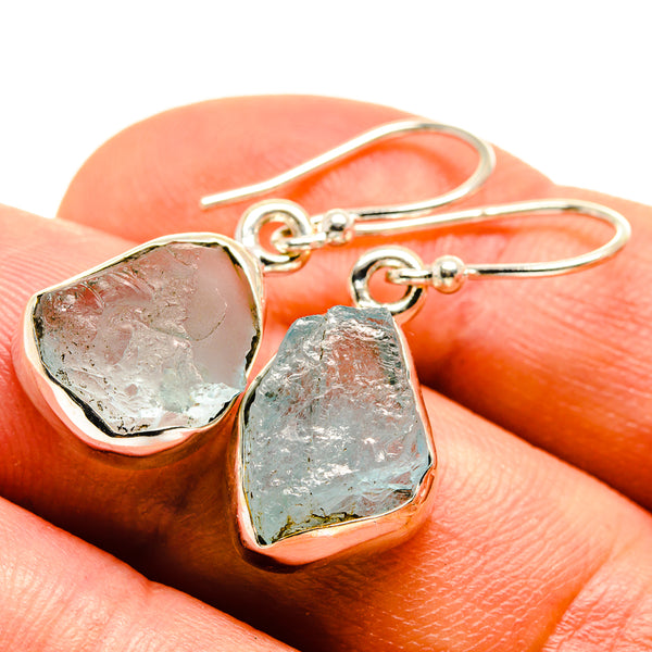 Aquamarine Earrings handcrafted by Ana Silver Co - EARR415331