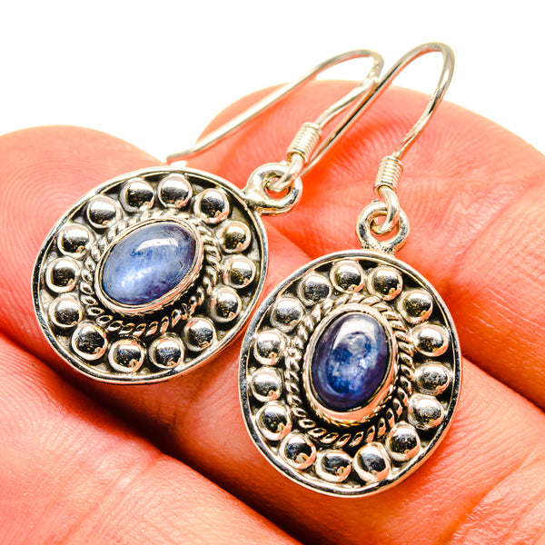 Kyanite Earrings handcrafted by Ana Silver Co - EARR415356