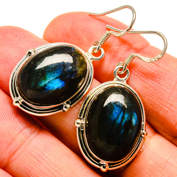 Labradorite Earrings handcrafted by Ana Silver Co - EARR415452