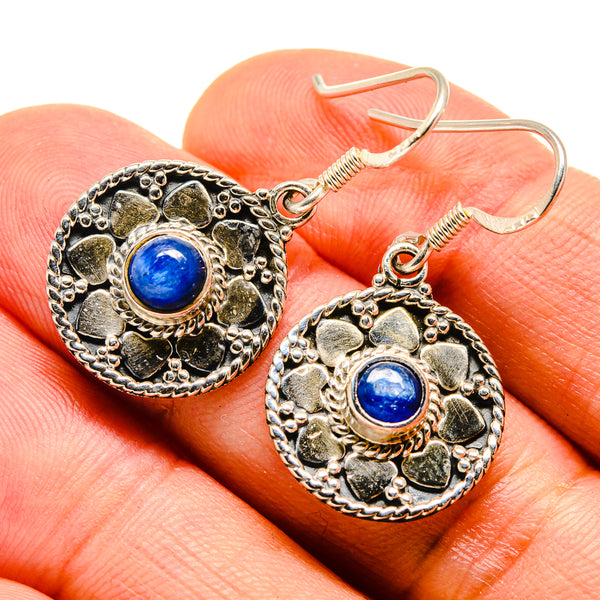 Kyanite Earrings handcrafted by Ana Silver Co - EARR415454